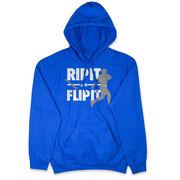Baseball Hooded Sweatshirt - Rip It Flip It