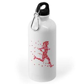 Running 20 oz. Stainless Steel Water Bottle - Heartfelt Run