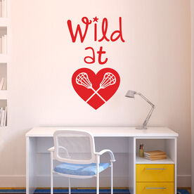 Lacrosse Removable ChalkTalkGraphix Wall Decal Wild At Heart