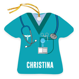 Personalized Ornament - Nurse Scrubs