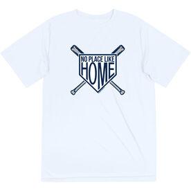 Baseball Short Sleeve Performance Tee - No Place Like Home