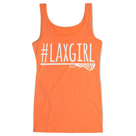 Girls Lacrosse Women's Athletic Tank Top #LAXGIRL