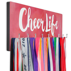 Cheerleading Hooked on Medals Hanger - Cheer Life