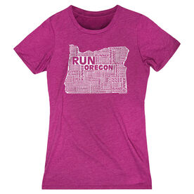 Women's Everyday Runners Tee Oregon State Runner