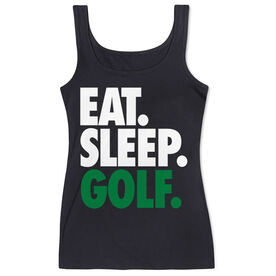 Golf Women's Athletic Tank Top Eat. Sleep. Golf.