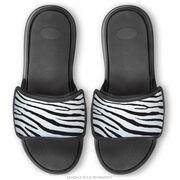 Personalized Repwell® Sandal Straps - Zebra Print