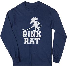 Hockey Long Sleeve T-Shirt - Rink Rat