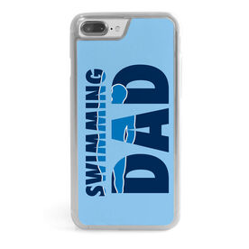 Swimming iPhone® Case - Swimming Dad