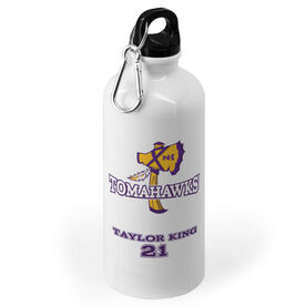 20 oz. Stainless Steel Water Bottle - New Hampshire Tomahawks Logo