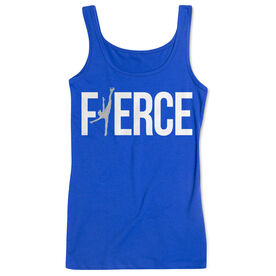 Figure Skating Women's Athletic Tank Top - Fierce Figure Skater
