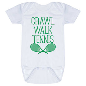 Tennis Baby One-Piece - Crawl Walk Tennis