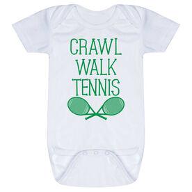 Tennis Baby One-Piece - Crawl Walk Tennis