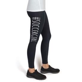 Soccer High Print Leggings #SoccerGirl
