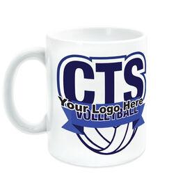 Volleyball Coffee Mug Custom Logo