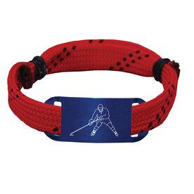 Hockey Lace Bracelet Player Adjustable Wrister Bracelet