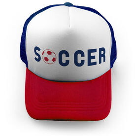 Soccer Trucker Hat Type