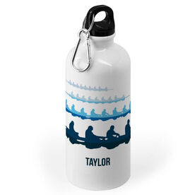 Crew 20 oz. Stainless Steel Water Bottle - Crew Silhouettes