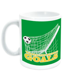 Soccer Coffee Mug What's Life Without Goals