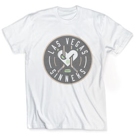 Vintage Tee - Las Vegas Sinners Logo