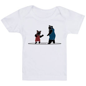 Wrestling Baby T-Shirt - Bears