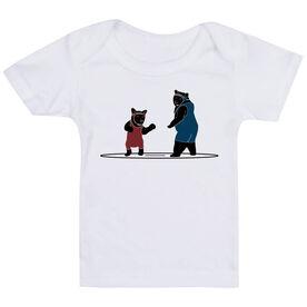 Wrestling Baby T-Shirt - Bears