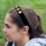 Basketball Juliband No-Slip Headband - Ball Icons with Number