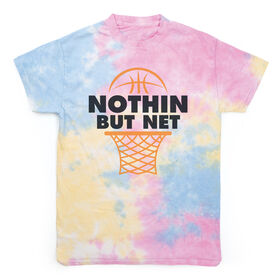 Basketball Short Sleeve T-Shirt - Nothing But Net Tie Dye