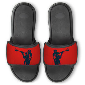 Guys Lacrosse Repwell® Slide Sandals - Lax Jumpshot