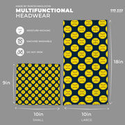 Softball Multifunctional Headwear - Softball Pattern RokBAND