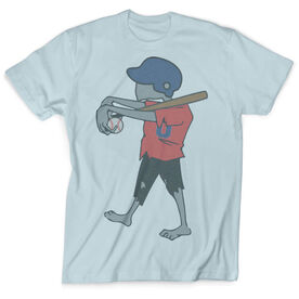 Vintage Baseball T-Shirt - Zombie Player