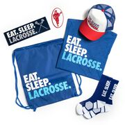Guys Lacrosse Swag Bagz - Eat. Sleep. Lacrosse