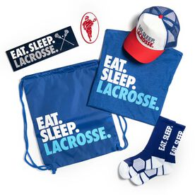 Guys Lacrosse Swag Bagz - Eat. Sleep. Lacrosse