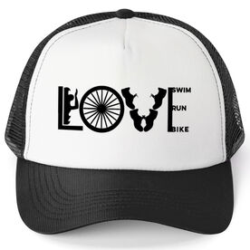 Triathlon Trucker Hat Love To Tri