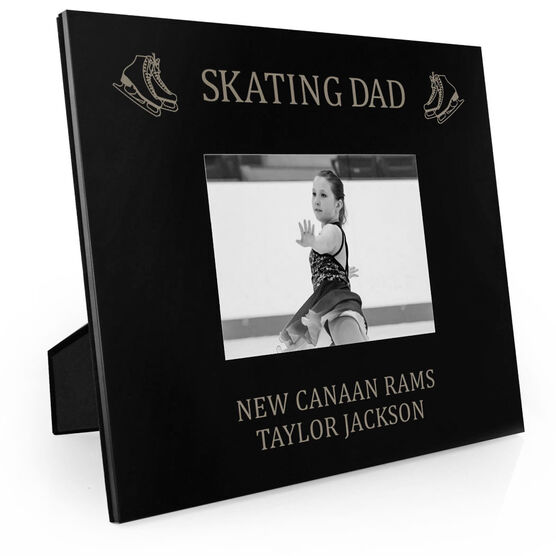 Figure Skating Engraved Picture Frame - Skating Dad