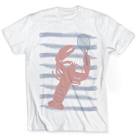 Vintage Tennis T-Shirt - Lobbin' Lobster