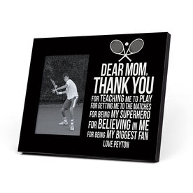 Tennis Photo Frame - Dear Mom
