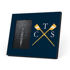 Crew Photo Frame - Custom Rowing Initials