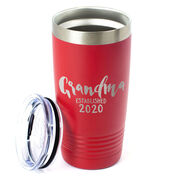 Personalized 20 oz. Double Insulated Tumbler - Grandma Established