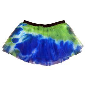 Runner's Printed Tutu Tie Dye
