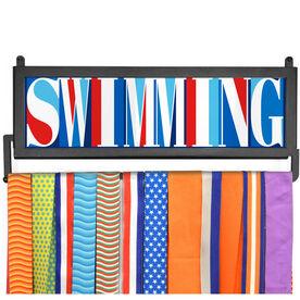AthletesWALL Medal Display - Swimming Mosaic