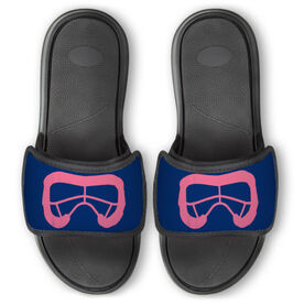 Girls Lacrosse Repwell™ Slide Sandals - Lax Goggles