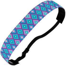 Athletic Julibands No-Slip Headbands - Geometric Diamonds