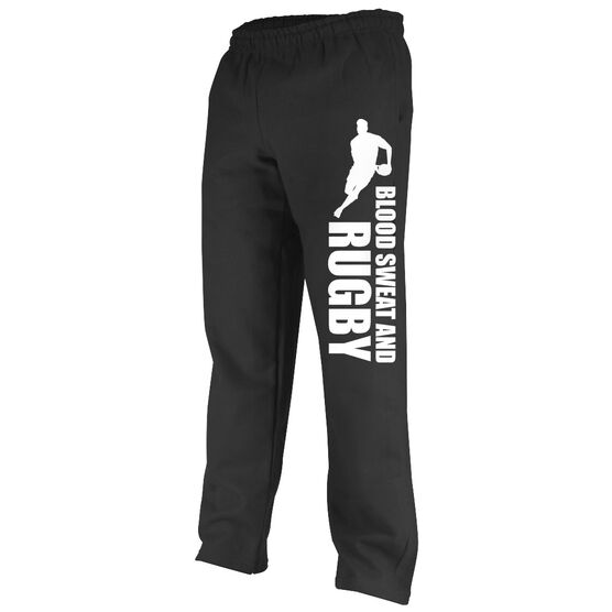 Rugby Fleece Sweatpants Blood Sweat And Rugby Male