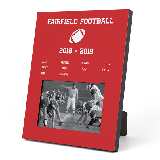 Football Photo Frame - Team Roster