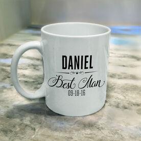 Wedding Party - Best Man Personalized Coffee Mug