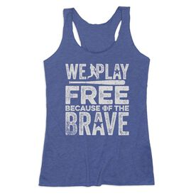 Baseball Women's Everyday Tank Top - Because Of The Brave Baseball