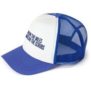 Running Trucker Hat - Then I Wear The Scrubs