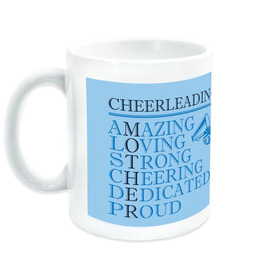 Cheerleading Coffee Mug - Mother Words