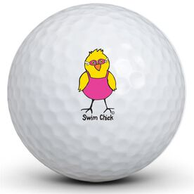 Swim Chick Golf Balls