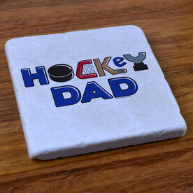 Hockey Dad - Stone Coaster